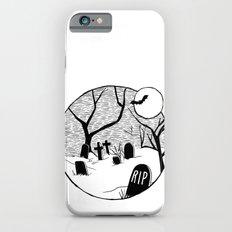 Halloween graveyard iPhone 6s Slim Case