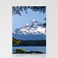 Mount Hood From Lost Lak… Stationery Cards
