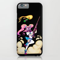 iPhone & iPod Case featuring Riot Magical Girl by Thais Magnta Canha