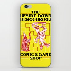 The Upside Down Demogorgon - Stranger Things Have Happened iPhone & iPod Skin