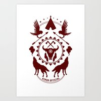 Indian Spirit Art Print