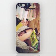 Bookish 04 iPhone & iPod Skin