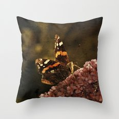 Dark Admiral Throw Pillow