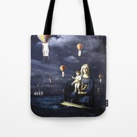 Madonna With Child (on T… Tote Bag