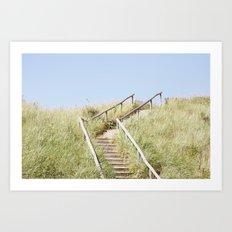 Sanddune, Egmond aan Zee Art Print