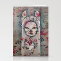 Ghostly Stationery Cards