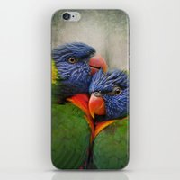 Rainbow lovers iPhone & iPod Skin