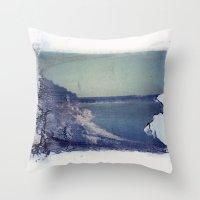 Lake Russell Polaroid Tr… Throw Pillow