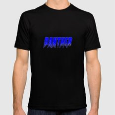 Panther Mens Fitted Tee Black SMALL