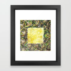 Fresh: Pineapple Framed Art Print