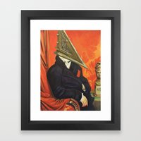 Baron Pyramid Head Framed Art Print