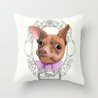 Chihuahua - Tuna  Throw Pillow