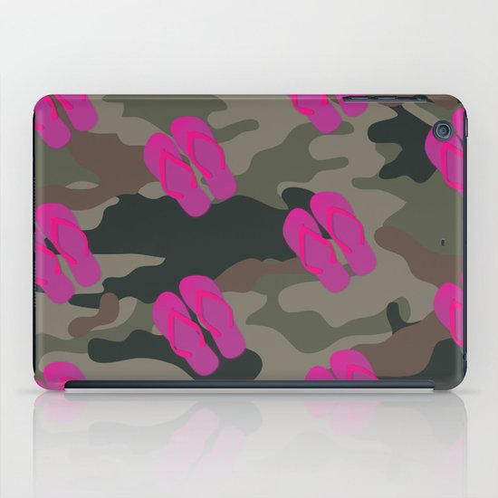 I saw Cady Heron wearing army pants and flip flops ... - quote from Mean Girls iPad Case