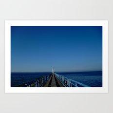Perfect Post Card VI Art Print