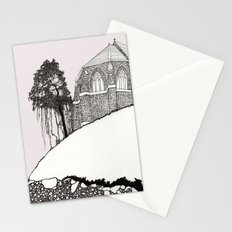 St. Vigeans (black and white) Stationery Cards