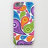 iPhone & iPod Case featuring Crazy Paisley by Digi Treats 2
