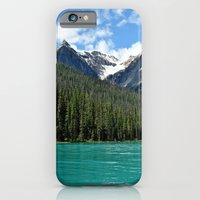 iPhone & iPod Case featuring Emerald Lake by Charlotte Keirle