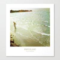 Fishing - Fripp Island South Carolina Canvas Print