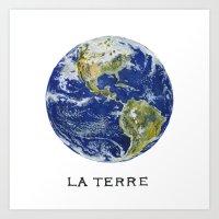 La Terre Art Print
