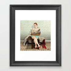 The Meal Framed Art Print