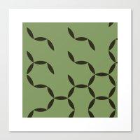 #92 Circular spring – Geometry Daily Canvas Print