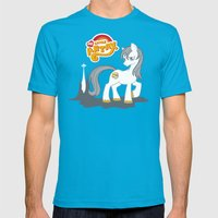 My Little Artax Mens Fitted Tee Teal SMALL