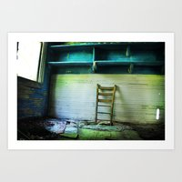 Abandoned Pt.1 Art Print