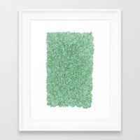 Nature Doodle Framed Art Print