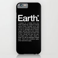 Earth.* Available for a limited time only. iPhone 6 Slim Case