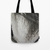 wisdom in stone. Tote Bag