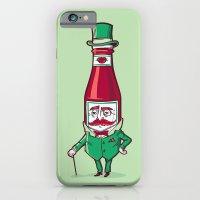 Sir Fancy Ketchup iPhone 6 Slim Case
