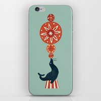 Circus Seal iPhone & iPod Skin
