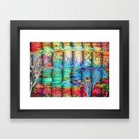 ABSTRACT - Friendship Framed Art Print