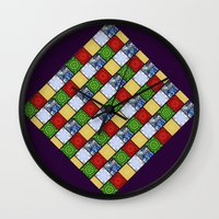 Five Elements Banner Wall Clock