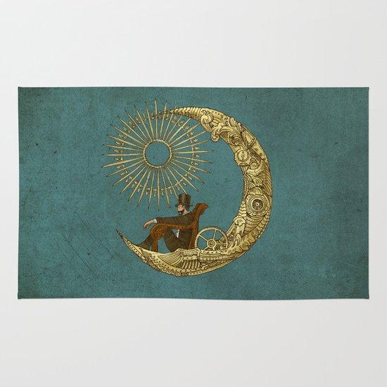 Moon Travel Area & Throw Rug