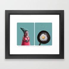 Strange believes 01 Framed Art Print