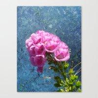 Foxglove With Texture … Canvas Print