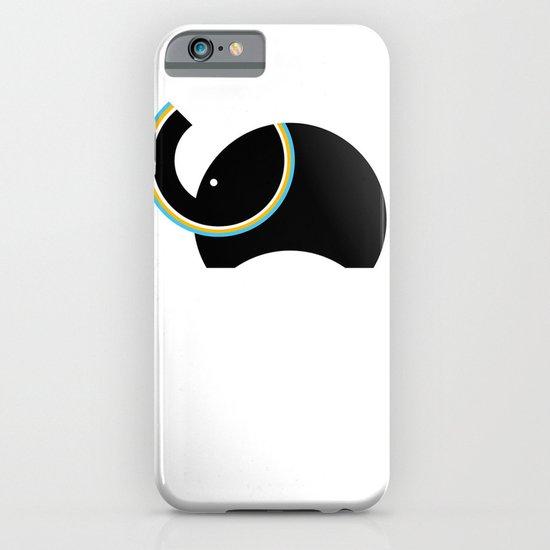 Retro Elephant iPhone & iPod Case
