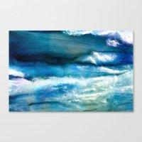 Waves Of Wool Canvas Print