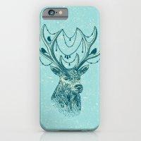 iPhone & iPod Case featuring Deer Spirit by Rachel Caldwell