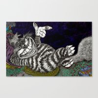 Cheshire Cat HiDef Canvas Print