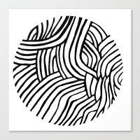 Circle Series #3 Canvas Print