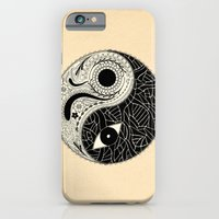 - yin & yang - [collaborative art with famenxt] iPhone 6 Slim Case