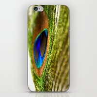 Shimmering Peacock iPhone & iPod Skin
