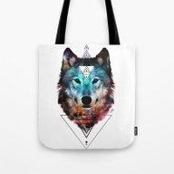 Sacred Wolf Tote Bag