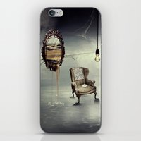 Reflection of truth iPhone & iPod Skin