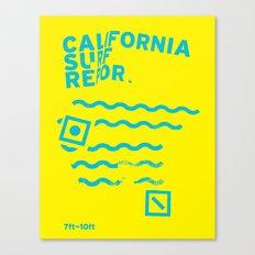 CSR/7-10 Canvas Print