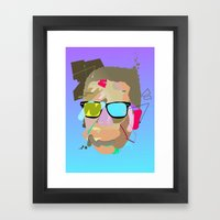 Dondi. Framed Art Print