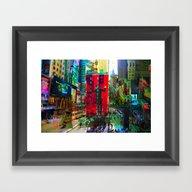 New York 8 Framed Art Print