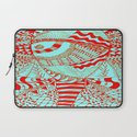 Elephant Butterfly Collection Laptop Sleeve